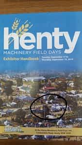 Henty Exhibitor Handbook